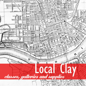 Local Clay webpage image